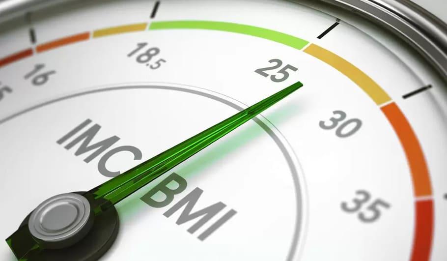 Normalvikt (BMI mellan 18.5–24.9)