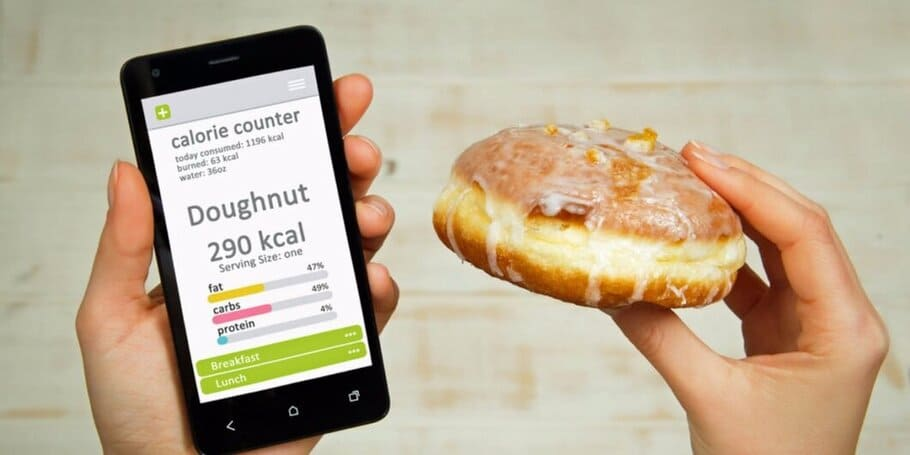 Håll ett öga på dina kalorier