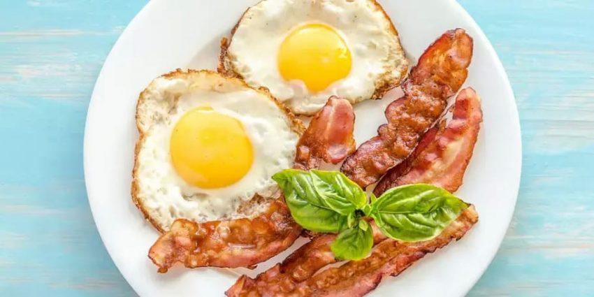 Gör en kolhydratsnål frukost med ägg