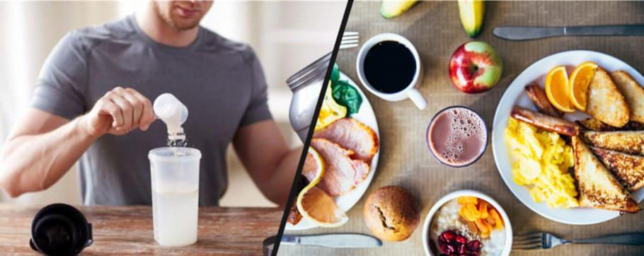 Måltidsersättningsprodukt för viktminskning